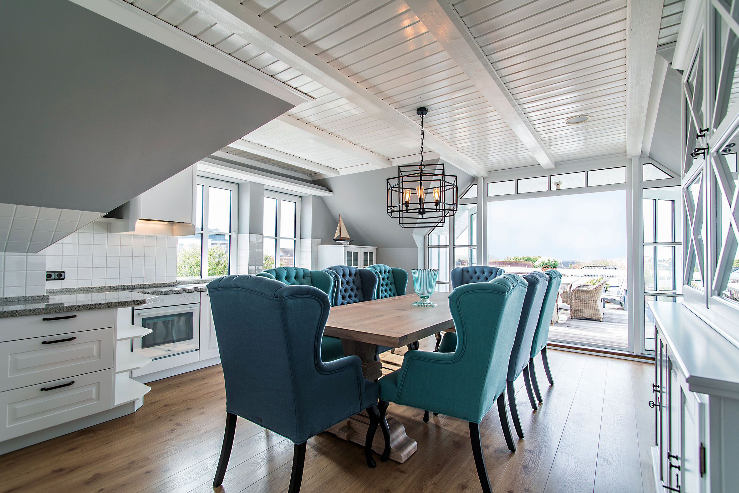 Penthouse-Küche